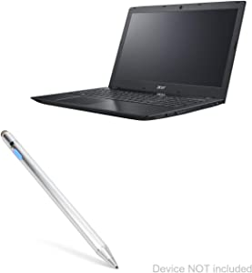 Acer Chromebook Spin 311 (R721T) Stylus Pen, BoxWave [AccuPoint Active Stylus] Electronic Stylus with Ultra Fine Tip for Acer Chromebook Spin 311 (R721T) - Metallic Silver