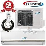 24000 Btu Ductless Mini Split DC Inverter Air Conditioner Heat Pump System - 208-230 Volt with 16ft Line Set