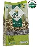 Organic Split Green Gram (Green Moong Dal Split)