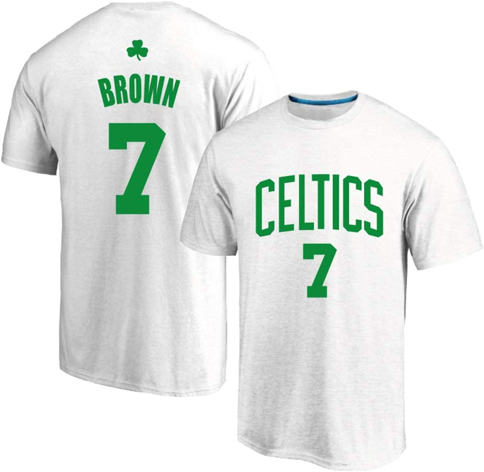 AMJUNM Camiseta de Baloncesto Boston Celtics 7# Brown, Uniforme de ...