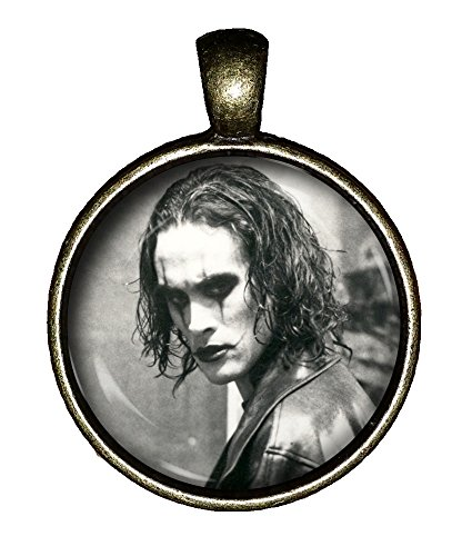Chaoticfashion The Crow Necklace Brandon Lee Handmade Hottie Jewelry Gift Pendant (Did Brandon Lee Die Before Finishing The Crow)
