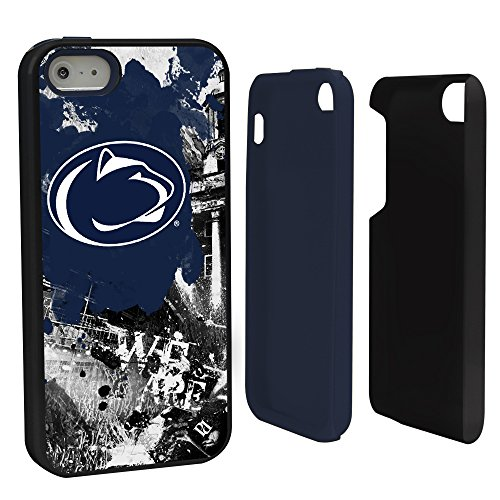 Guard Dog NCAA Penn State Nittany Lions Paulson Designs Hybrid Case for iPhone 5/5S, Black