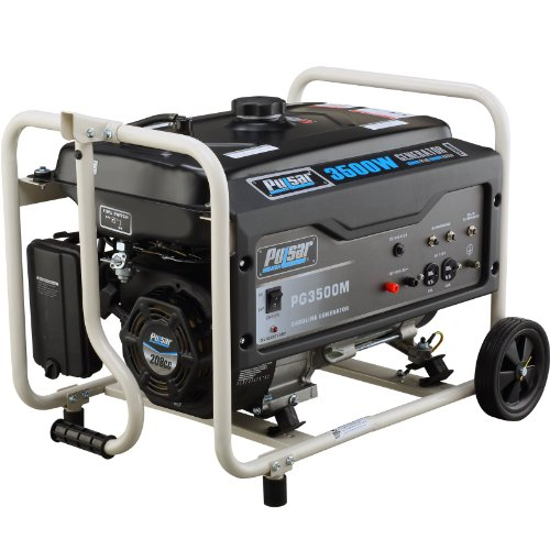 Pulsar PG3500M 3500W Peak 3000W Rated compact Gas-Powered Generator Suitable Price