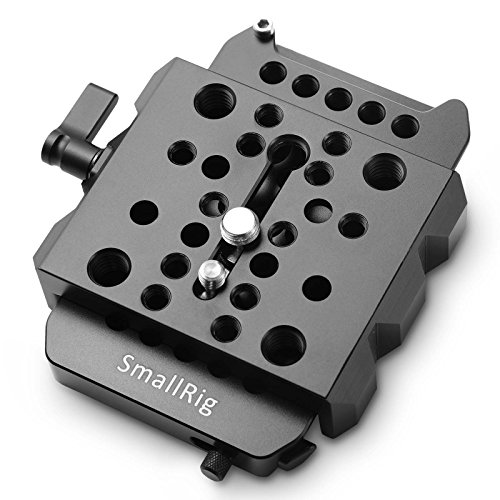 SMALLRIG Quick Release Plate Set, Dovetail Kit for ARRI Standard Plate and Clamp - 1723