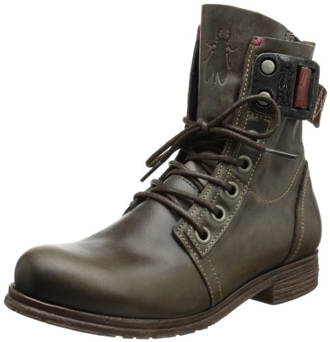 Fly London Stay - Botas biker Gris (Grey)