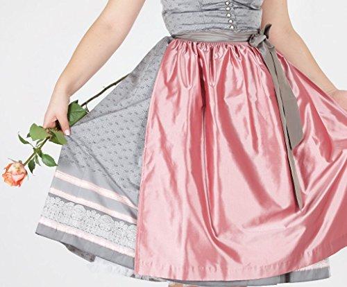 14119 Wenger Dirndl Candy 70er silber rosa