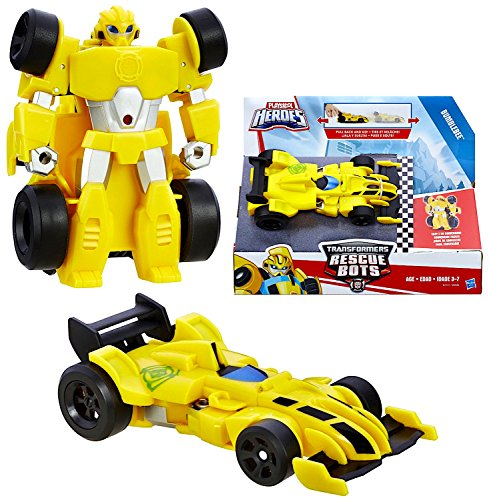 Robot Bumble Bee Heroes - Bumblebee the Robot to Race Car Rescue Heroes