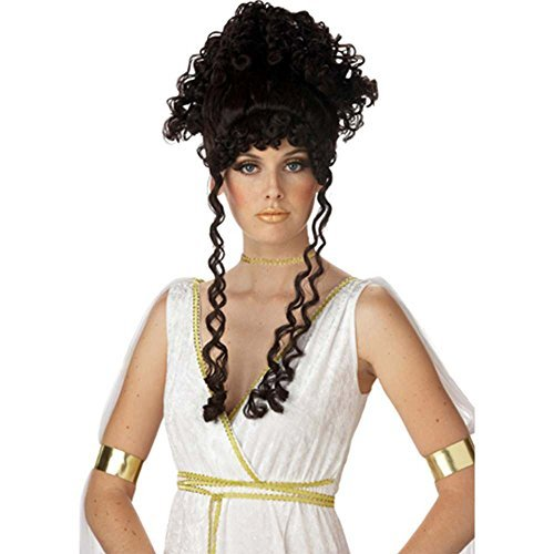 Brunette Athenian Goddess Wig By California ()