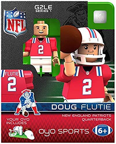 Doug Flutie OYO NFL New England Patriots G2 Series 1 Mini Figure Limited ()