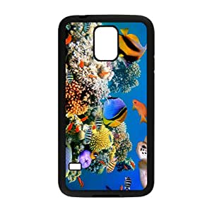 Fascinating Sea World Hight Quality Plastic Case for Samsung Galaxy S5