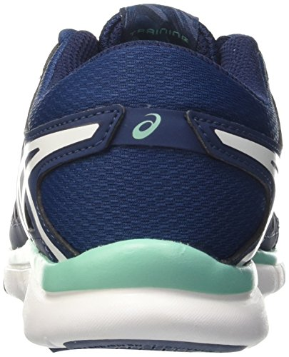 Blu Poseidon femme 2 Gymnastique Gel fit Tempo Asics Cockatoo White TqxHZYw