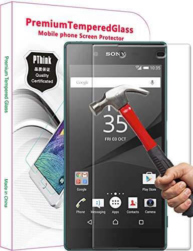 Tempered Glass Screen Protector Film for Sony Xperia Z5 - 7