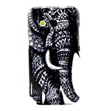 For Galaxy Core Prime SM-G360F , ivencase Tribal animal Slim Pattern Flexible Ultra Thin Texture Soft TPU Gel Rear Bumper Protective Skin Case Cover Perfect Fit for Samsung Galaxy Core Prime SM-G360F + One