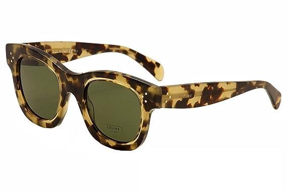 f721005b3494 Celine Women s CL 41397S 41397 S T7H 1E Havana Honey Fashion Sunglasses 58mm