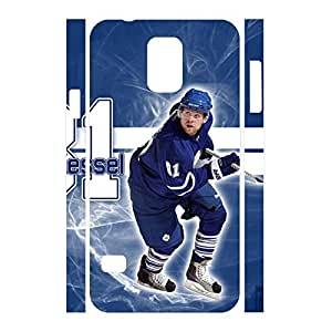 Hockey Athlete Pattern Romantic Hipster Handmade Hockey Player Skin for Samsung Galaxy S5 I9600 Case