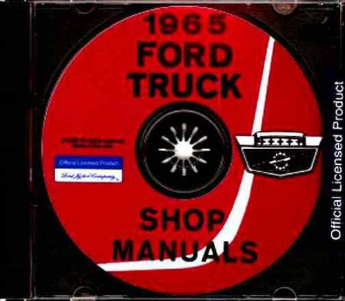 1965 FORD TRUCK & PICKUP REPAIR SHOP & SERVICE MANUAL CD - F-100, F-250, F-350, F-500, F-600, F-700, F-750, F-800, F-850, F-950, F-1000, F-1100, B-500, B-600, B-700, B-750, C-550, C-600, C-700, C-750, C-800, C-850, C-950, C-1000, C-1100 65 ()
