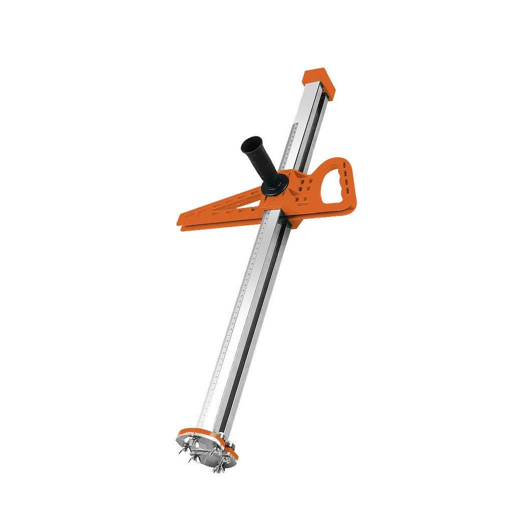 Wabaodan Manual Gypsum Board Cutter Artifact Tool Hand Push Drywall Cutting with Double Blade and 4 Bearings 20-600mm Cutting Range(Orange)