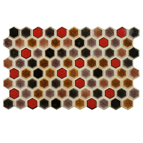 Somertile FNU9CO Liguria Porcelain Floor and Wall Tile, 5...