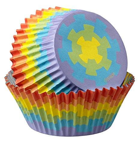 Cupcake Halloween Ideas Wilton (Wilton Standard Baking Cups, 36-Count, Rainbow)
