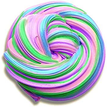 Slime swirl. Amazon com aunool fluffy