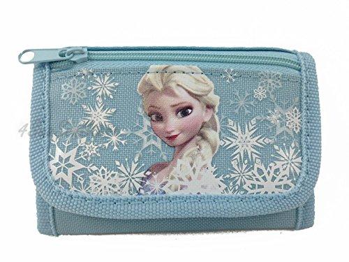 LOT of 2 Disney Frozen Anna Elsa Princess Pink + Blue Trifold Wallet + 24 Frozen Stickers Nwt - Lot Disney Cars