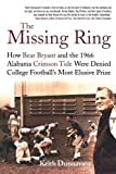 The Missing Ring, Keith Dunnavant, 0312374321