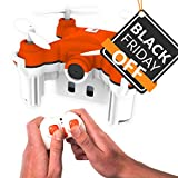 SKEYE Nano 2 Camera Drone with Auto Take-Off and Land – Quadcopter with HD Video Camera – 6 Axis Gyro