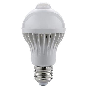 Luz LED con sensor de movimiento infrarrojo PIR, lámpara LED con sensor de movimiento PIR