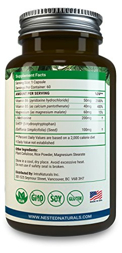 Nested Naturals Supplement Facts