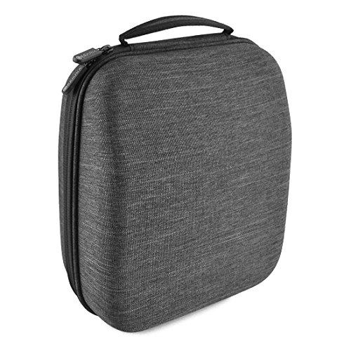 Headphones Case for Sennheiser HD598, HD598 CS, HD650, HD600, HD558, AKG K701, Q701, Beyerdynamic DT880, DT990 and More/Hard Shell Large Carrying Case with Foam Insert/Gaming Headset Travel Bag
