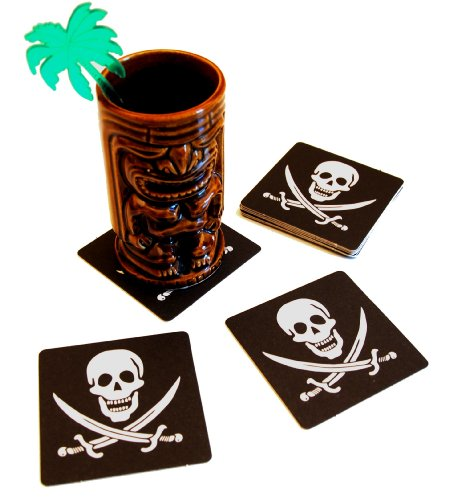 20-Skull-and-Crossbones-Pirate-Drink-Coasters