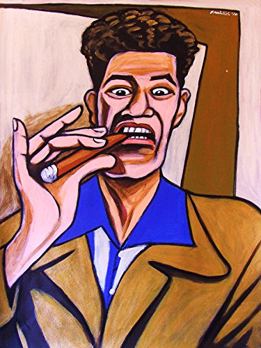 COSMO KRAMER CIGAR PRINT POSTER seinfeld tv series smoking cohiba corona humidor dvd blu-ray disc