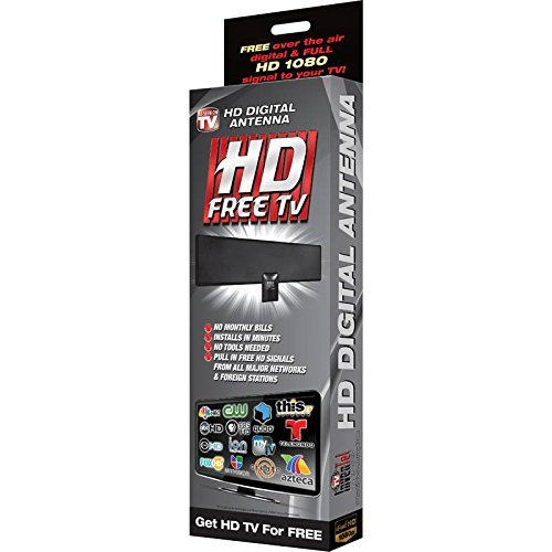 HD Free TV Digital Antenna - FREE HD Signal From All Major T
