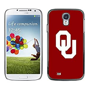 LOVE FOR Samsung Galaxy S4 OU Sports Team Personalized Design Custom DIY Case Cover