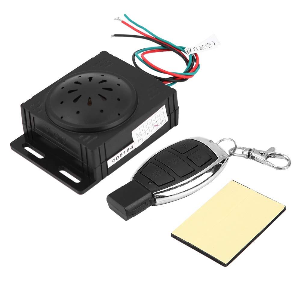 9V-16V Sistema di Allarme di Sicurezza per Motocicli Dispositivo Antifurto per Immobilizzatore Moto con Telecomando Sistema Antifurto Universale per Moto