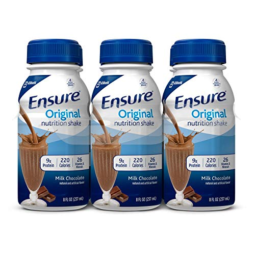 Ensure Original Milk Chocolate Flavor 8 oz. Bottle Ready to Use, 57231 – Each