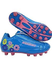 Vizari Blossom FG Soccer Shoe (Toddler/Little Kid),Blue/Pink,10 US Toddler