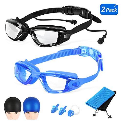 Goggles Anti fog Protection Waterproof Swimming