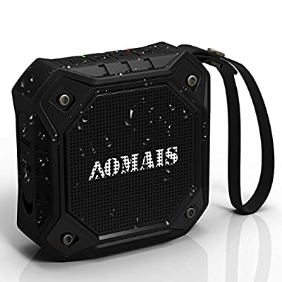 AOMAIS Ultra Portable Wireless Bluetooth Speaker with 8W Output Loud Sound,Waterproof IPX7 Floating,Shockproof,Dustproof,Rechargeable Battery,Build-in Speakerphone for iPhone7/iPod/iPad/Samsung/Cell Phones/Tablets/PC/Laptop
