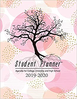 student planner agendas for college university and high school 2019
