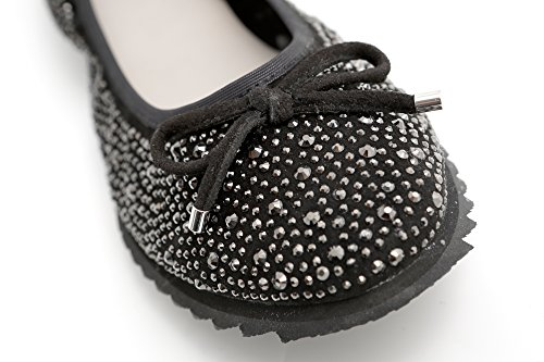 mujer Piel Bailarinas Pretty para negro de Nana q1StXS