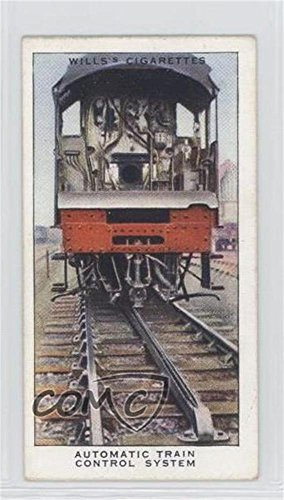 (Automatic Train Control System (Trading Card) 1938 Wills Railway Equipment - Tobacco [Base] #2)