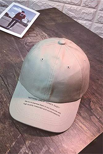 Summer Letters Base Leisure Cap Men Women Unique Outdoor Sun hat Cap Child Green