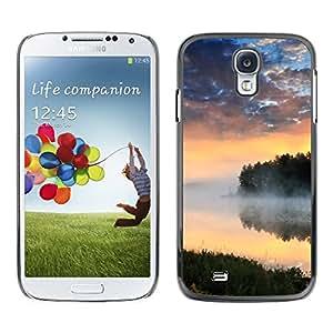 Be Good Phone Accessory // Dura Cáscara cubierta Protectora Caso Carcasa Funda de Protección para Samsung Galaxy S4 I9500 // Nature Lake Mist