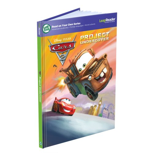 LeapFrog LeapReader Book: Disney/Pixar Cars 2: Project Undercover (works with - Book Tag