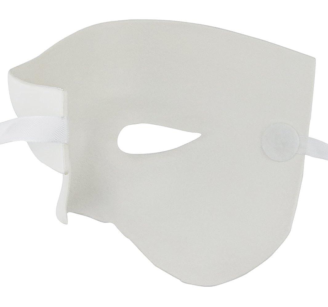 KEFAN Mens Mask Masquerade Mask Phantom of The Opera Half Face Mask