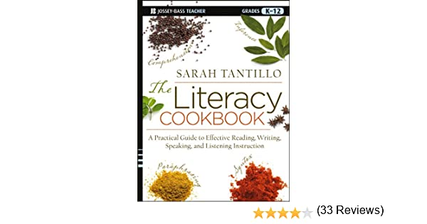 Amazon.com: The Literacy Cookbook: A Practical Guide to Effective ...