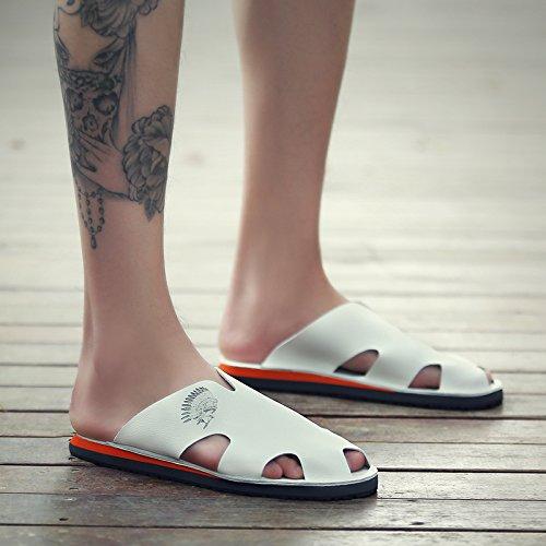 alla caviglia uomo White cinturino Salabobo con Scarpe fxqwpCtz