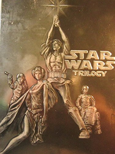 Star Wars 4-Disc DVD Trilogy Box Set