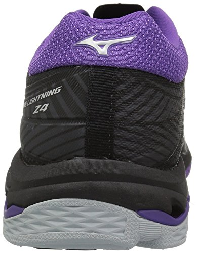 Volleyball Mizuno Black Shoe Wave Purple Lightning Violet Z4 Women's WWnvIpqR
